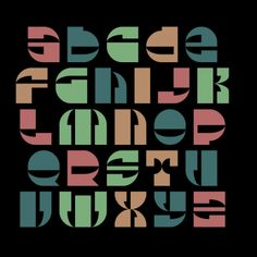 Beach Street, a font by Paul Bokslag