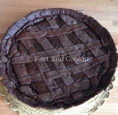 Crostata al cioccolato fondente di Knam