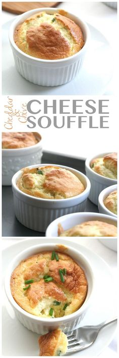 Creamy, dreamy low carb cheese soufflé recipe. The best keto side dish or breakfast!