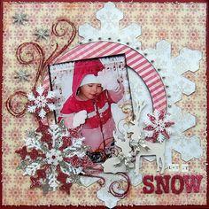 Let it SNOW - Scrapbook.com