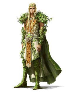 Elder Druid - Pathfinder PFRPG DND D&D d20 fantasy