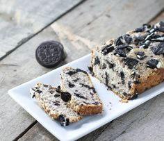 Cookies & Cream Ice Cream Bread - Only 3 Ingredients! #bread #icecream