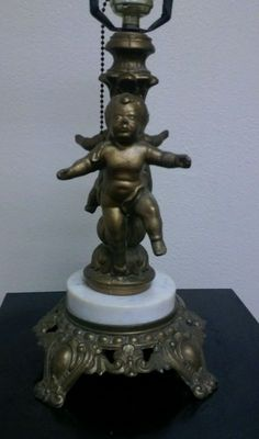Hold For Heather Vintage Cherub Candelabra Five Arm