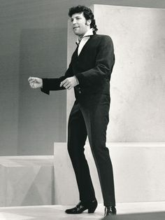Tom Jones on 'The Ed Sullivan Show', 1965.