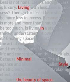 The beauty of space : living in minimal style / Chris van Uffelen.-- [Salenstein] : Braun, 2016.