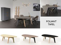 Castelijn Foliant tafel, nu bij van Til Interieur Alkmaar