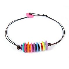 Button bracelet -- sweet and easy!