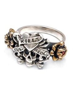 Ed hardy rings women | home jewelry ed hardy rings women ed hardy sterling silver and bronze ...