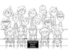 Illustrator: Nick Watson.... It would be fun to have a large group done in caricatures