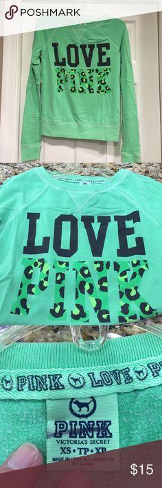 PINK sweatshirt 😎😎 Cute and comfy PINK Victoria's Secret Tops Sweatshirts & Hoodies