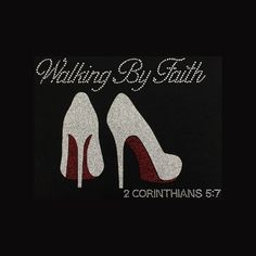 Excited to share this item from my shop: Faith, Walking By Faith Faith Rhinestone and Glitter Vinyl Bling - Black T-Shirt - Contact to change color shirt Bling Quotes, Fun To Be One, Just For You, Bling Shirts, Tee Shirts, Encouragement, Custom Caps, Small Letters, Faith Prayer