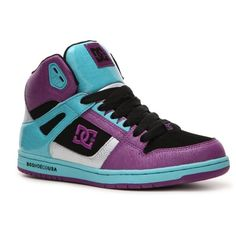 DC Shoes Rebound High-Top Skate Sneaker found on Polyvore