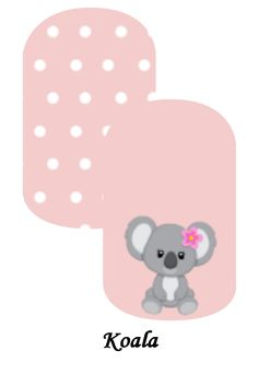 My custom Jamberry Wraps koala NAS Nail Wraps #jamberry #gabbysjams Contact me if you are interested in purchasing them:https://www.facebook.com/groups/1000449243382687/ or gabbysjams@gmail.com or https://www.facebook.com/gabbysjams/ DIY, nail art, cute,