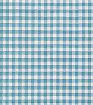 Oilcloth - Gingham Sky Blue Vogue Fabric Store.com $8.00/yard