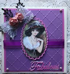 For my first card I used assorted dies,cardboard and craft paper as well as old lace closeup For my second card I titled i. Easy Cards, I Card, Embellishments, Layouts, Card Making, Paper Crafts, Garden, How To Make, Fun