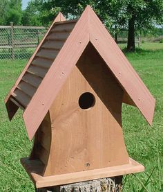 Here are some tips for making your backyard bird house more attractive to the locals.