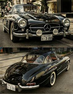 Mercedes Beautiful Sports Çoupè #mercedesclassiccars
