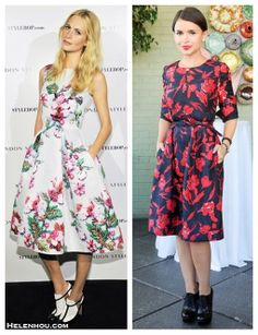 Demure Lady: Florals & Lace