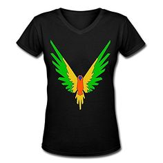 Doppelwalker Maverick Logo T Shirt,Logan Paul Logang YouTube womens V Neck T-Shirts (S, Black01).  100% cotton, High Quality. Lightweight, delicate