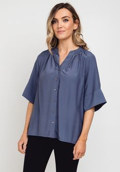 Dark Blue, Trends, Blouse, Fitness, Sleeves, Tops, Women, Fashion, Moda