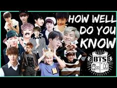 BTS QUIZ: How well do you know BTS MVs? - YouTube