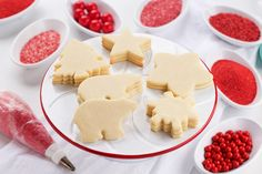 This sugar cookie recipe is simple and perfect plain or as a base for buttercream or royal icing. Great for holidays and everyday. Make some today.