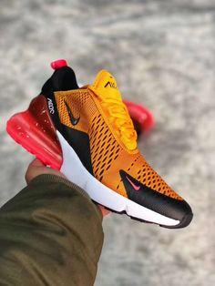 3cbd71c2543 Nike Air Max 270 University Gold vibrant orange Nike Kicks