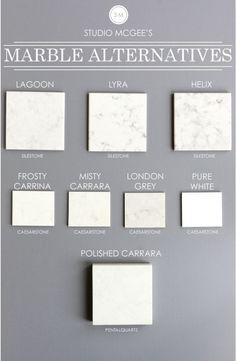 white marble alternatives                                                                                                                                                     More