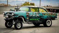 A Brief History Of Ford Trucks – Best Worst Car Insurance Rat Rods, Rat Rod Cars, 1955 Chevy, 1955 Chevrolet, Vintage Race Car, Drag Cars, Drag Racing, Auto Racing, Ford Trucks