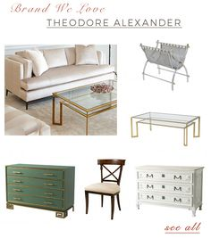 Theodore Alexander - Furniture, Lighting, Accessories for the Curated Home   |   Free Shipping