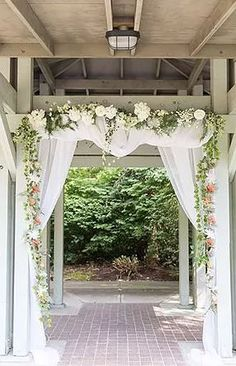 Arch, Outdoor Structures, Garden, Wedding, Ideas, Mariage, Bow, Garten, Gardening