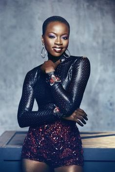 Danai Gurira she beautiful, talented and intelligent, She plays one of the most badass characters on tv!