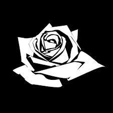 rose stencil - Google Search