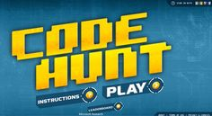 Code Hunt, an educational, browser-based coding game from Microsoft Research