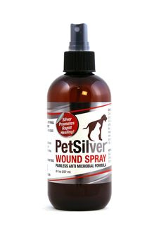PetSilver Wound Spray with New Chelated Silver 50 ppm. Antimicrobial Wound Care for Cats, Dogs and Horses. Rapid Healing for Hot Spots, Burns, Cuts, Scratches, Itchy Skin, Yeast and Bacteria Infections. >>> Continue to the product at the image link.