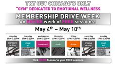 Rooted Launches Membership with FREE sessions May 4-May 10! Sign up for your free sessions now!