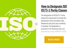 How to Designate ISO 8573-1 Purity Classes