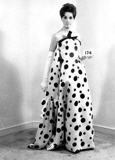 Balenciaga Haute Couture 1964, Look #174.