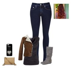 """""""Sans titre #931"""" by harrystylesandliampayne ❤ liked on Polyvore featuring rag & bone, H&M, Journee Collection and Luana"""