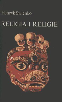 """""""Religia i religie"""" Henryk Swienko Cover by Jerzy Malarski Published by Wydawnictwo Iskry 1981"""
