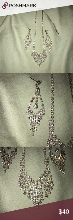 Formal wear jewelry Earrings and necklace included Jewelry Earrings