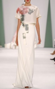 Carolina Herrera Spring/Summer 2015 Trunkshow Look 43 on Moda Operandi