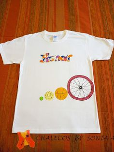 sports T-shirt, personalized