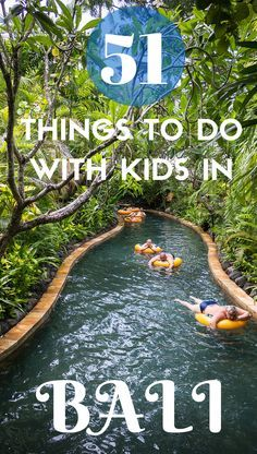 We have visited Bali 10 times now and in no particular order, here's our 51 favourite things to do in Bali with kids - from waterparks to zoos to pedicures. It's all here!