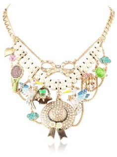 Betsey Johnson Walk in the Park Hat and Pelican Multi-Charm Necklace, 18 Betsey Johnson,http://www.amazon.com/dp/B00AJT8IFQ/ref=cm_sw_r_pi_dp_vQeOrbB072A14EA6