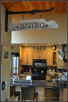 Homeroad-Hanging Bistro Sign