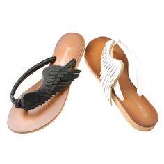 Shoes :: 2color Wing Flip-flop - K-Styleme l Korean Fashion, Asian Trendy Fashion, Free International Shipping