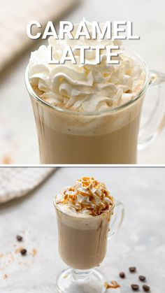 Caramel Lattes are so easy to make at home. With only a few ingredients you can make your own fancy coffee drink in the comfort of your own home. These ingredients are easy to have on hand and it comes together in minutes. Make a caramel latte in the comfort of your own home!