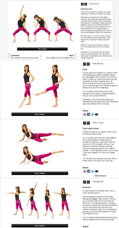 Essentrics Workout from Chatelaine, Pt. 2