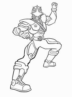 power rangers samurai coloring pages to print | drawling of the Power Rangers | Dibujos de Personajes de ...